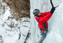Ice Climbing Whiteman Falls