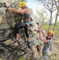 Intro Rock climbing - Banff Life