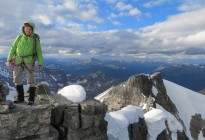 Claire on mt lefroy