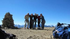 rock climbing Castle Mountain Banff Life